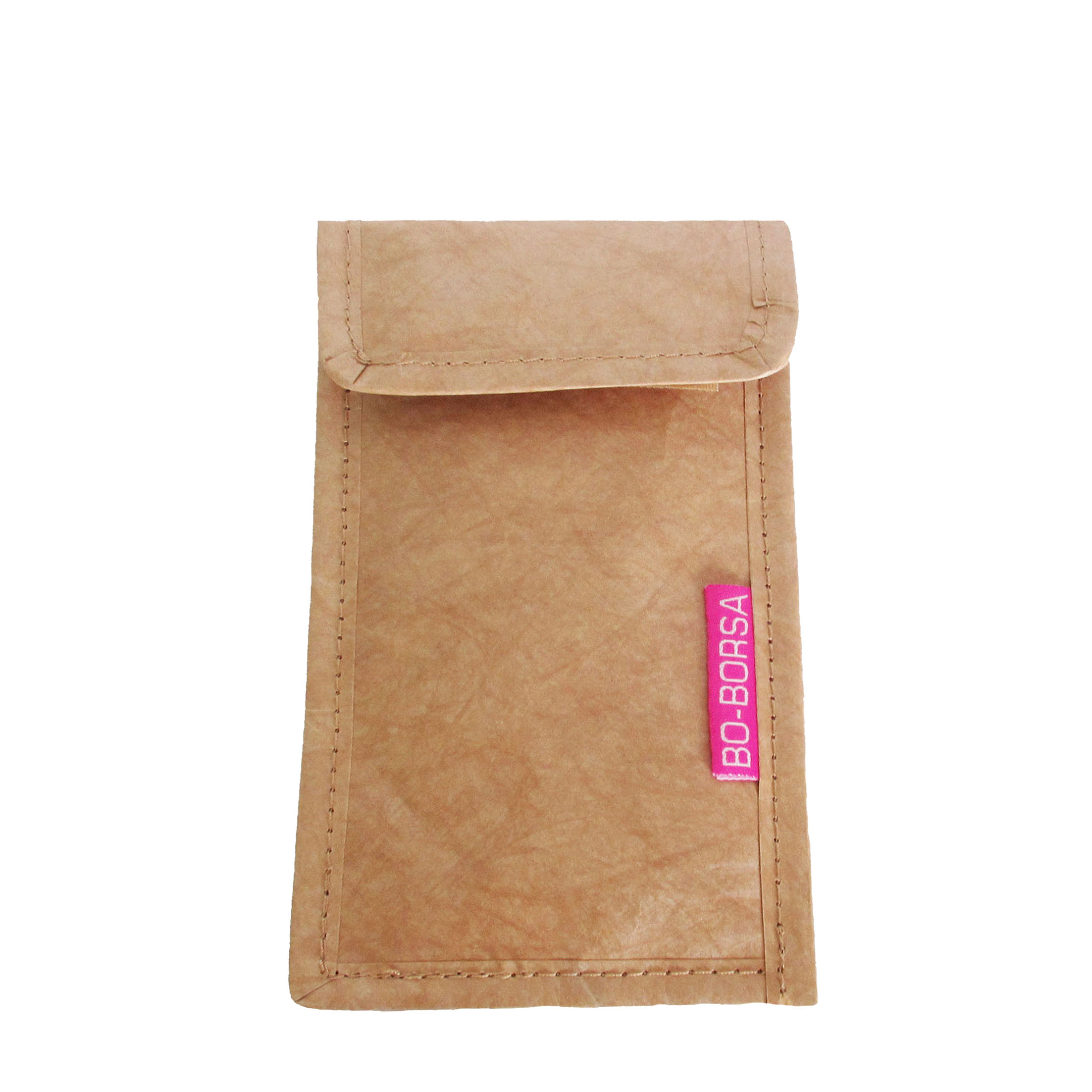 brown tyvek phone case purse